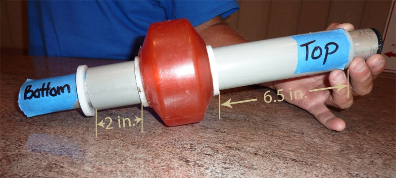 Position of the EZ Port Max Roller