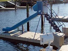 Picture of EZ Dock sliding board