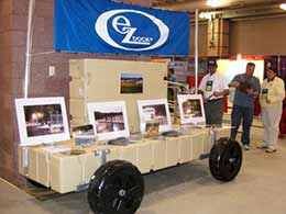 picture of dock wheels at Atlantic City Boat Show