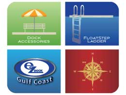 Link to EZ Dock Gulf Coast Accessories page