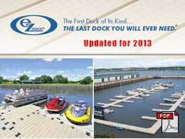Picture of EZ Dock Catalog cover